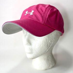 Under Armour Pink Baseball Running Hat